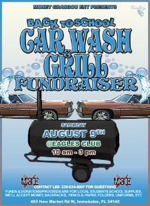 Back To School Carwash & Grill Fundrasier