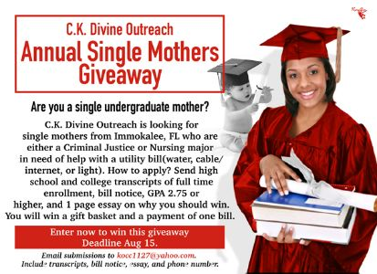 C.K._Devine_Single_Mothers_Giveaway_flyer