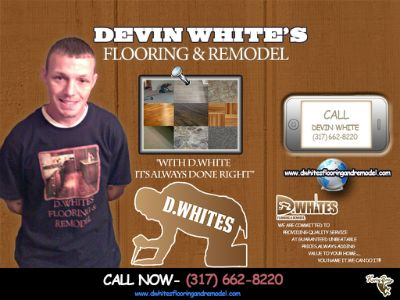 Devin White's flooring & Remodel build board