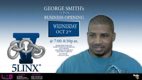 GeorgeSmith 5Linx Business Meeting flyer