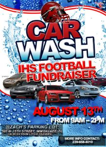 IHS_Football_Carwash_Fundraiser_flyer