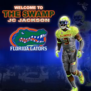Jc Jackson Gators Welcome graphic