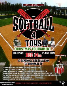 Lee Softball 4 Toys flyer