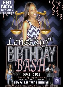 Lenee's_19th_Birthday_Bash_flyer