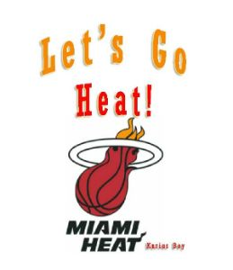 """Let's Go Heat"" anthem song cover"