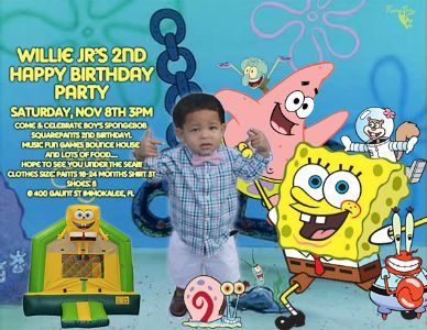 Lil Lee 2nd Birthday Party flyer