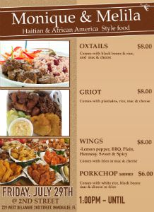 Monique_n_Melila_-Haitian_AfricanA_Food_flyer