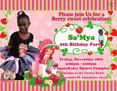 Sa'Mya's 6th Birthday Party