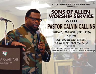 Sons_Of_Allen_Worship_Service_Calvin_Callins_flyer