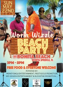 Worm_Wizzle_Beach_Party_flyer