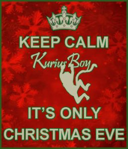 Keep Calm Christmas Eve edit