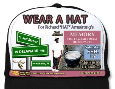 "Richard ""Hat"" Armstrong flyer 2013"